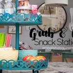 Back to School + Grab & Go Snack Station