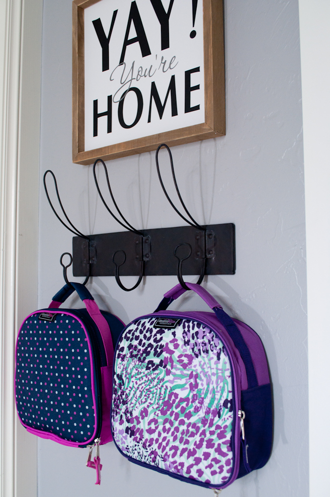 Do you cringe at the thought of the after school chaos of backpacks, shoes and papers? Creating a drop zone for back to school will save your sanity!