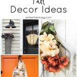 10 Fall Decor Ideas for your Front Door