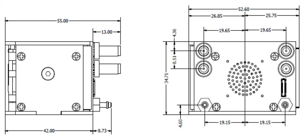 Veronte Autopilot: Dimensions, connectors and system