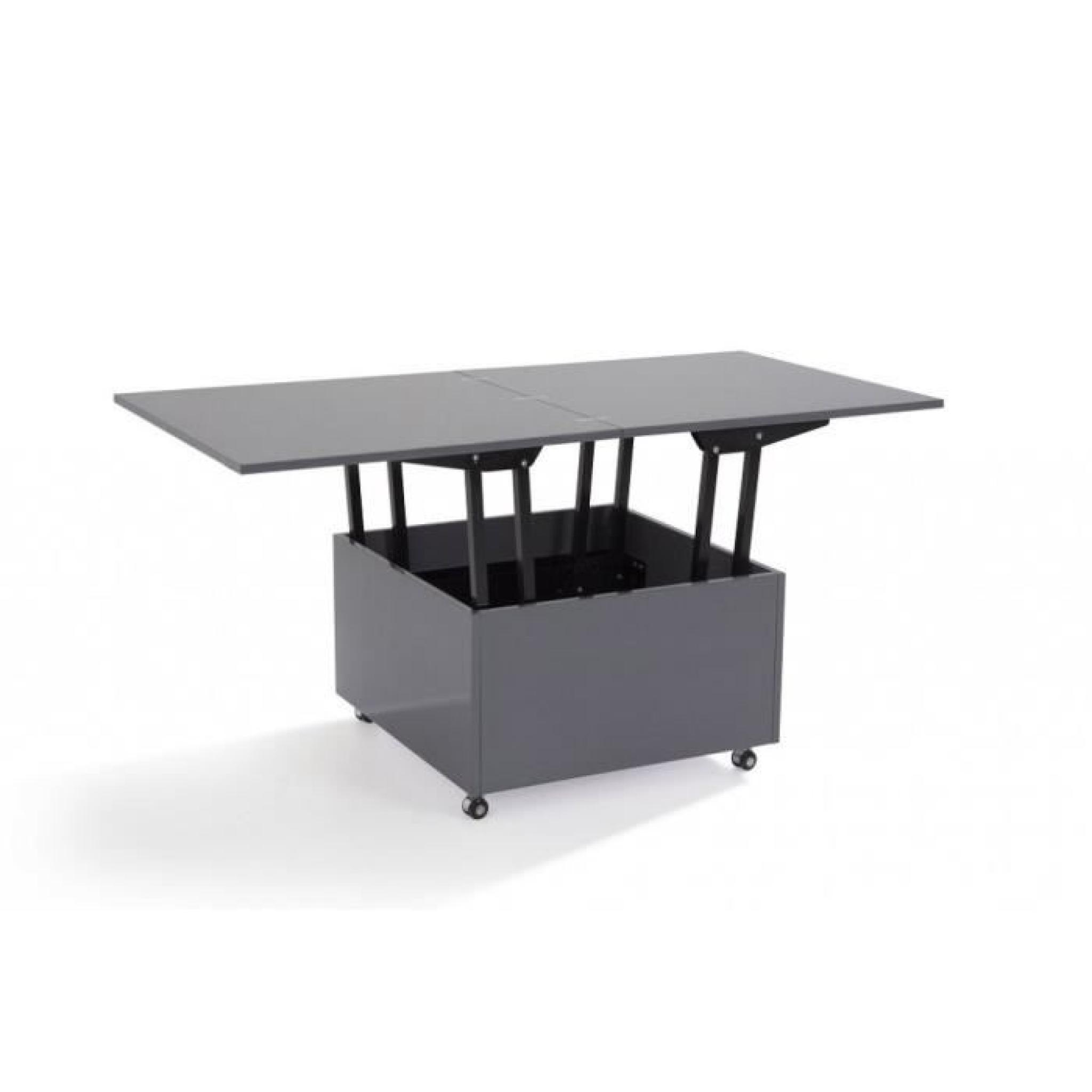 table basse relevable extensible carrera emberizaone fr