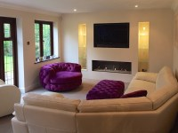 A contemporary fireplace conversion  Embers, Frimley Green
