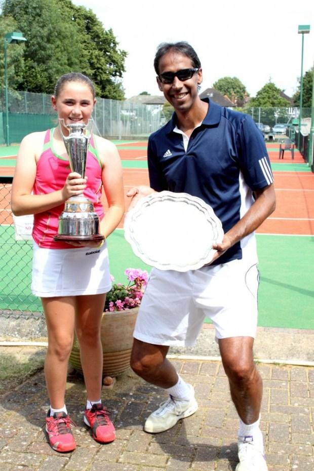 Eloise & Irfan - 2015 Singles Champs
