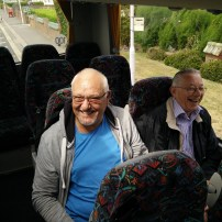 Trouble makers at the back of the bus