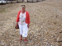 Linda takes a stroll.