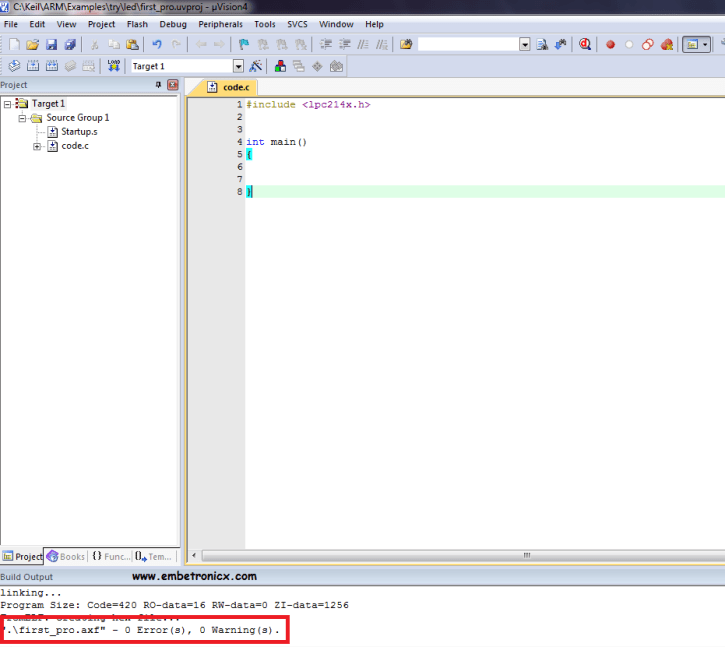 26 LPC2148 - Install Keil IDE