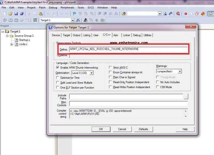 freertos4 LPC2148 - FreeRTOS Porting with Keil IDE