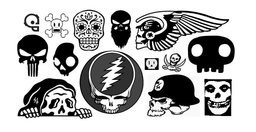 back to skull emblemetric