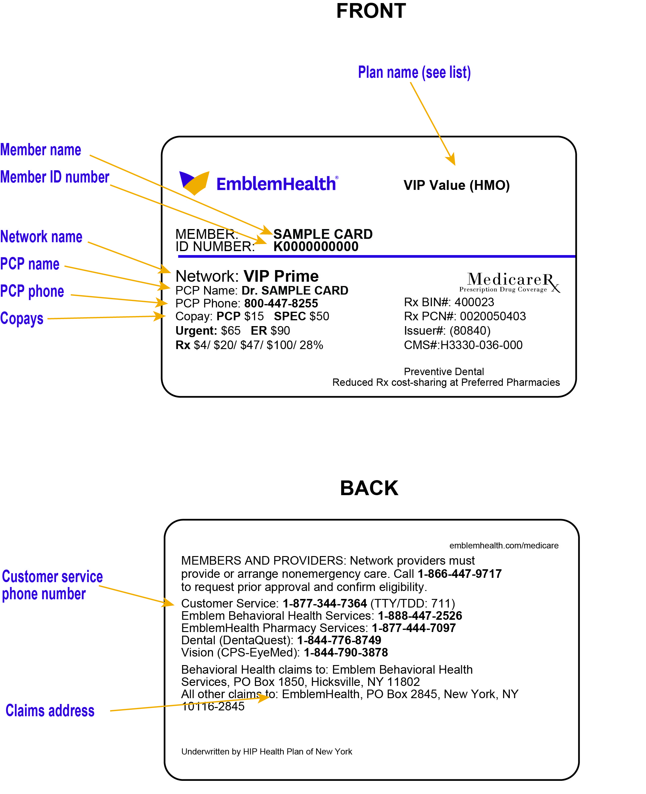 Member Identification Cards | EmblemHealth