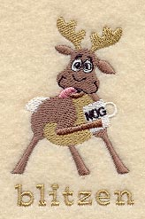 Reindeer Pal - Blitzen