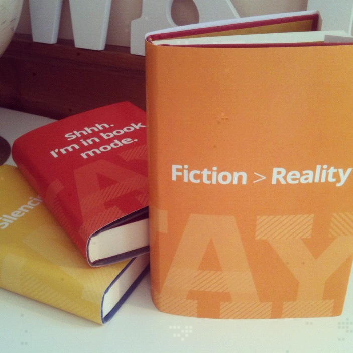 Fun Dust Jackets for Readers