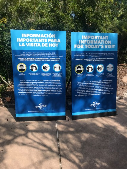 Traveling to a Theme Park after the Coronavirus Shutdown