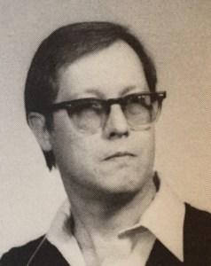 Jack Bottorf as seen in my Senior yearbook, 1983.