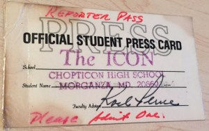 Press Pass Chopticon High School - Lessons taught by Jack Bottorf