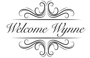 Welcome Wynne