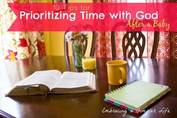 bible journal and coffee at the kitchen table