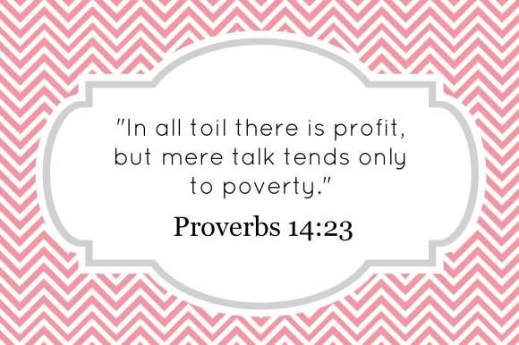 proverbs 14_23