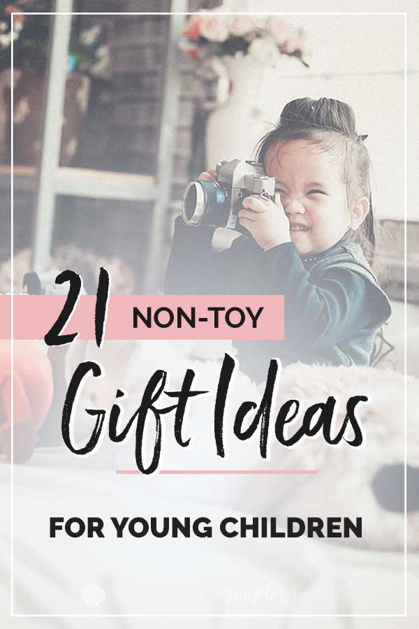 Non-Toy Gifts for Kids