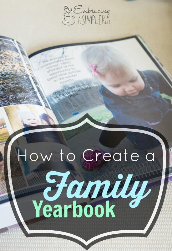 the what why how of creating a family yearbook embracing a
