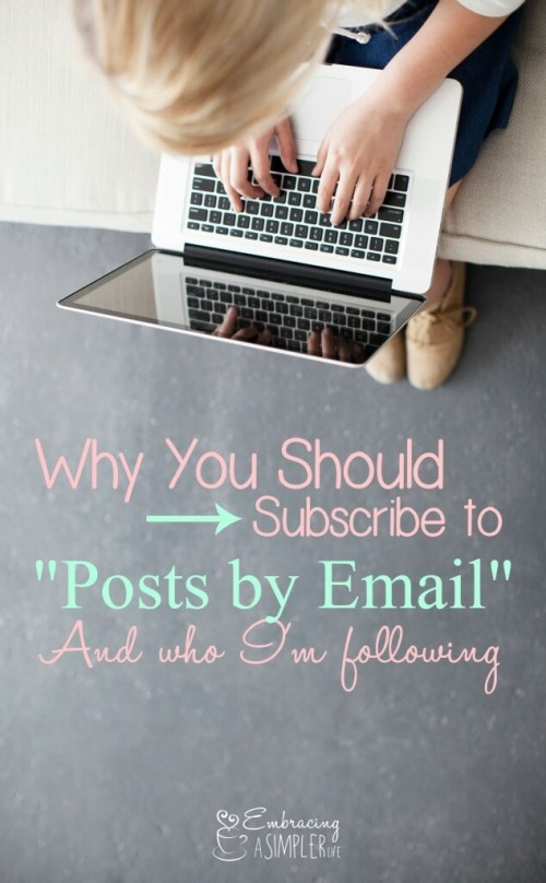 why you should subscribe to posts by email
