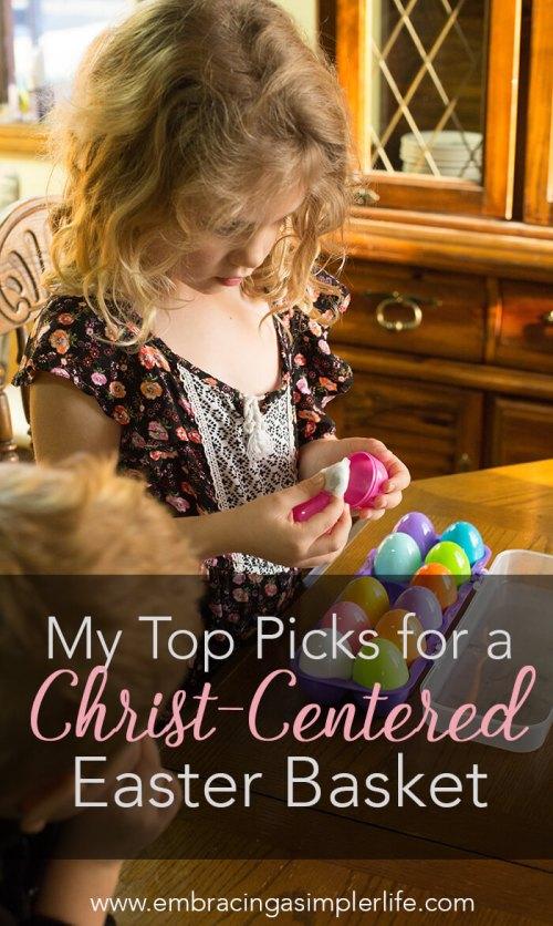 Christ centered Easter basket top picks