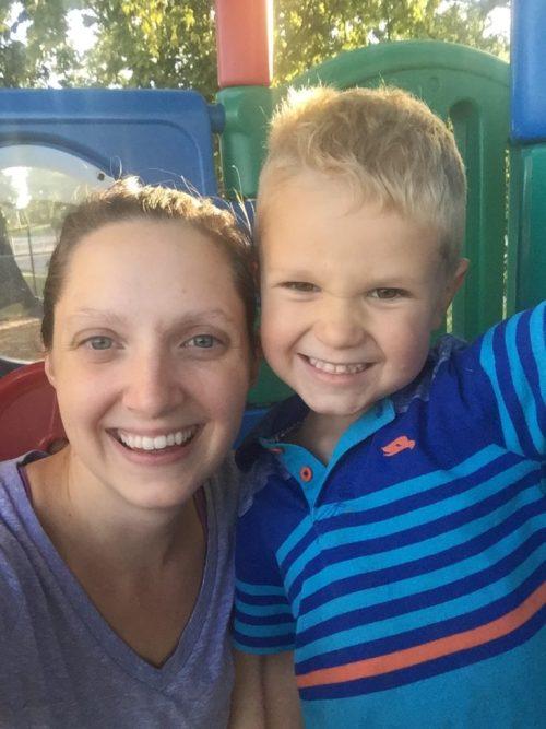 Parent Child Date Idea Park and Ice Cream