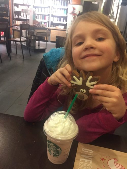 Kid Date Idea Starbucks