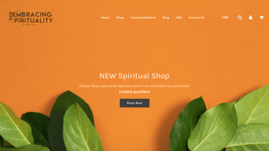 Photo of NEW EMBRACING SPIRITUALITY STORE