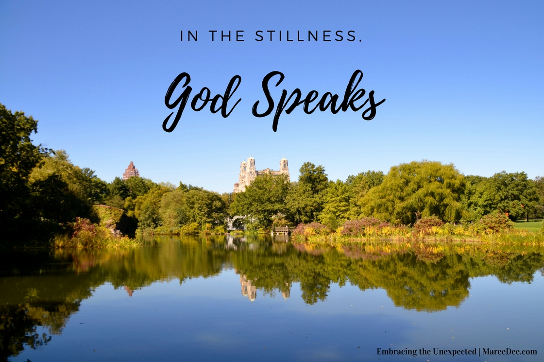 In the Stillness, God Speaks