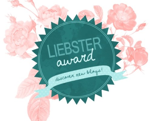I have a heart full of gratitude to Esther Dorotik for nominating me for the Liebster Award!   What an excellent way to kick off a month of thankfulness.