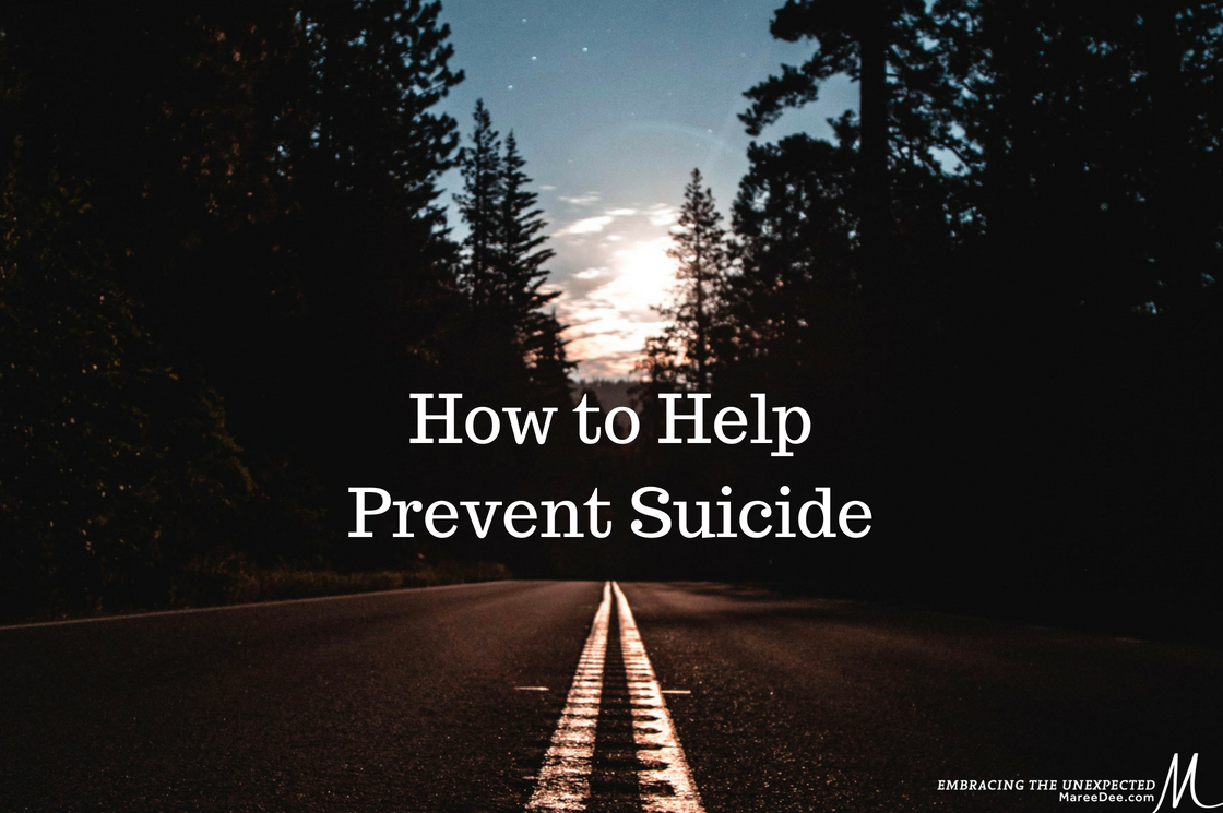 How To Help Prevent Suicide