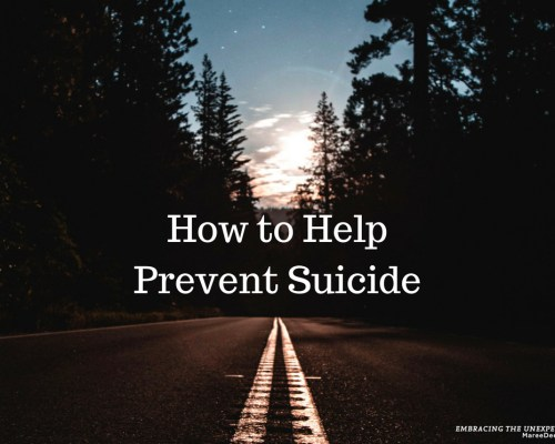 Would you like to know how to help prevent suicide? There are steps you can take which may help prevent this tragic loss.