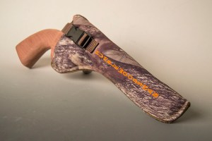Embroidery gun holster created by Embroider It in Columbia MO.