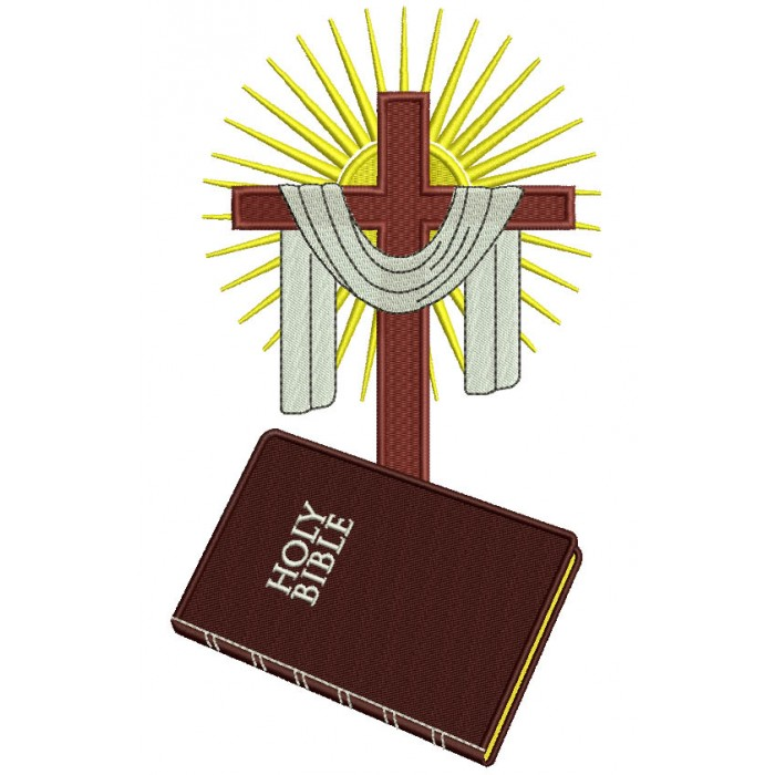 holy bible and cross
