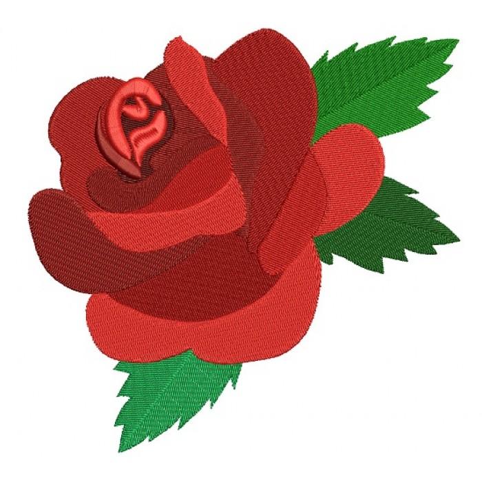 red rose filled machine