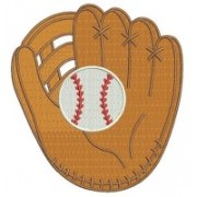 baseball-mitt- glove -with-ball-machine-embroidery