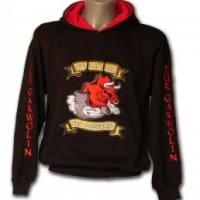 Heavy Embroidered Hooded Sweatshirts