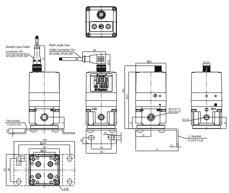 ETV Electro-Pneumatic Proportional Regulator manufacturer