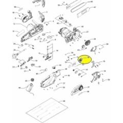 Tendeur de chaine pour tronçonneuse Electrique Mac Culloch