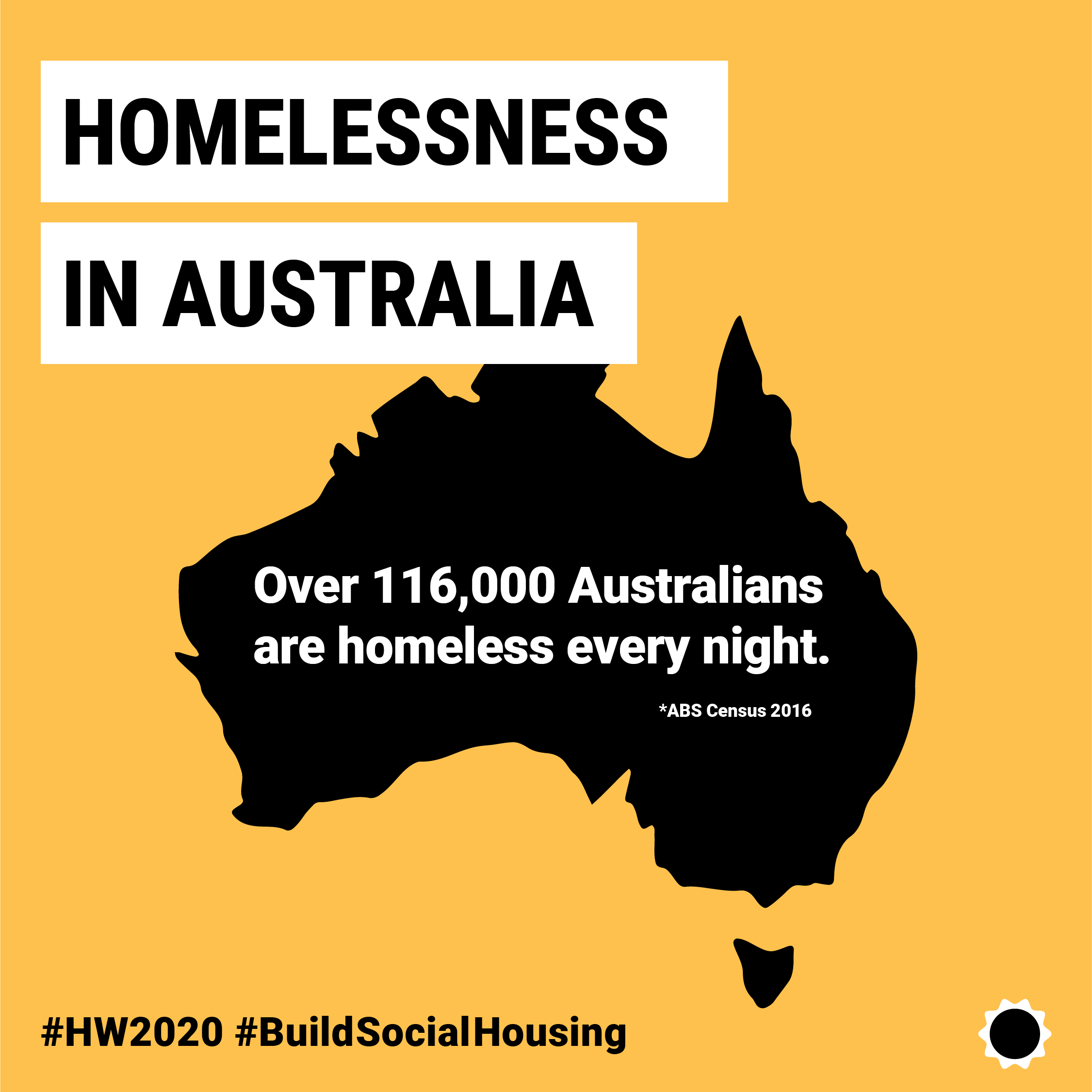Homelessness in Australia - Over 116,000 Australians are homeless every night.