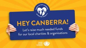 Hands up for Canberra Giving Day