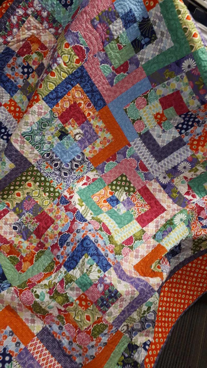 Quilt for EOFY Appeal winter warmers giveaway