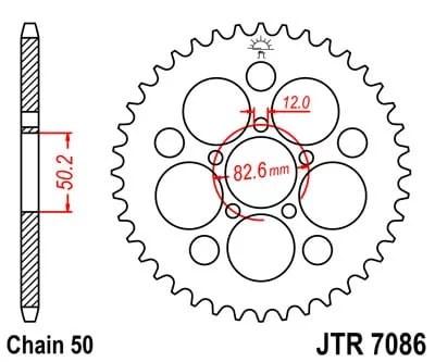 JT TAKARATAS JTR7086.48, Harley Davidson XLH883/1200