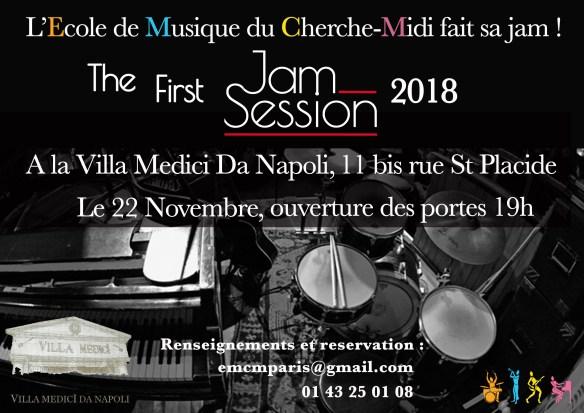 Jam Session chez Napoli Affiche 6.1