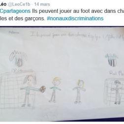 Discrimination CE1B Léo