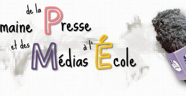 Semaine de la presse et des médias à l'école 2021