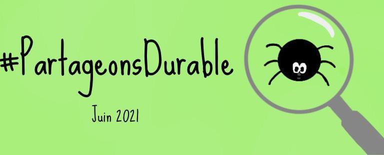 #PartageonsDurable