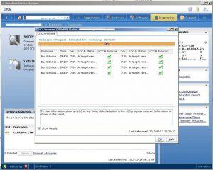 Figure 3.26 - LCC Firmware (FRUMON) Status