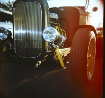 Flat Black Hotrod: Lomo