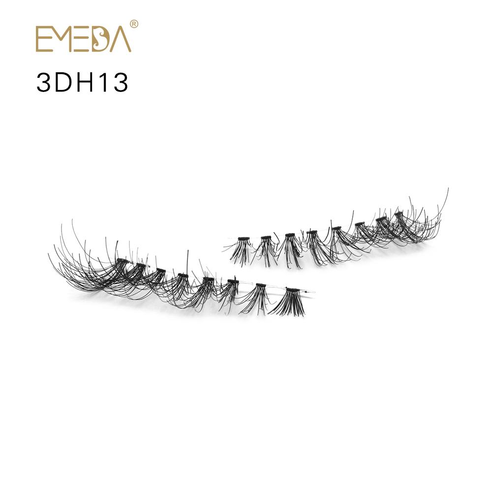 Strip Eyelash 3D Human Lash Eyelash Glue And Tools JE56